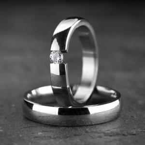 Vestuviniai žiedai su...