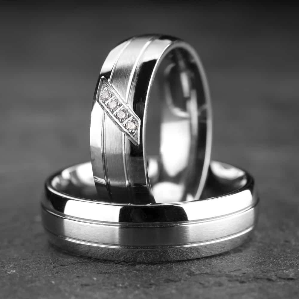 """Vestuviniai žiedai su Briliantais """"Klasika 7"""""""