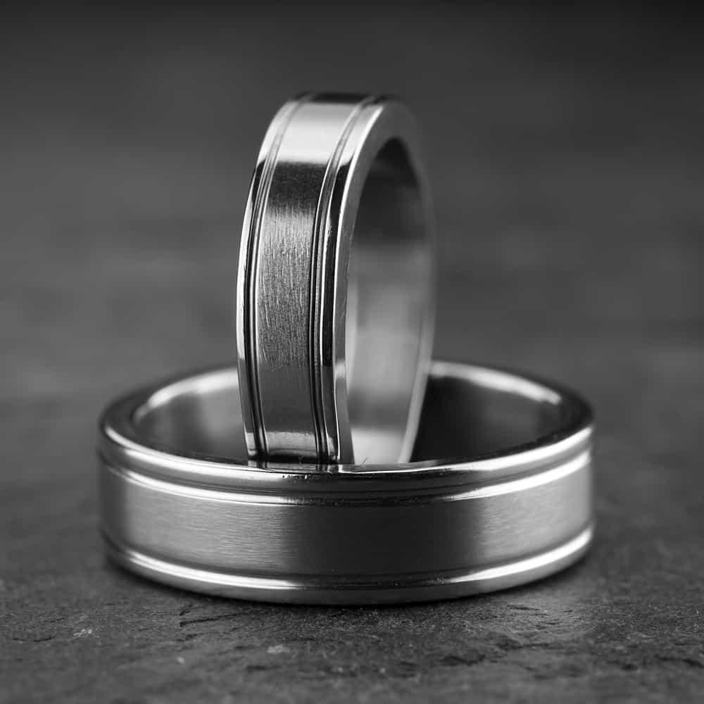 """Vestuviniai žiedai """"Modernūs 5"""""""