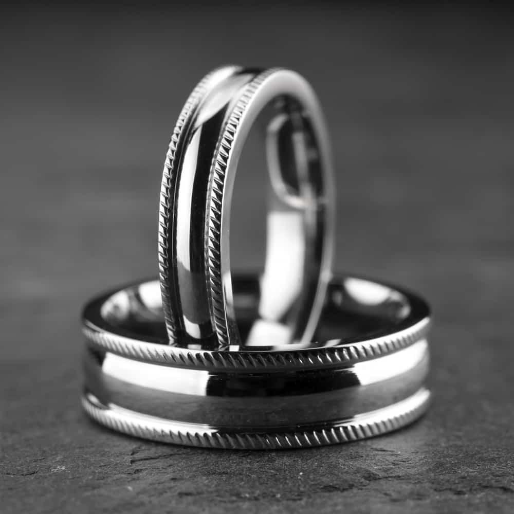 """Vestuviniai žiedai """"Modernūs 7"""""""