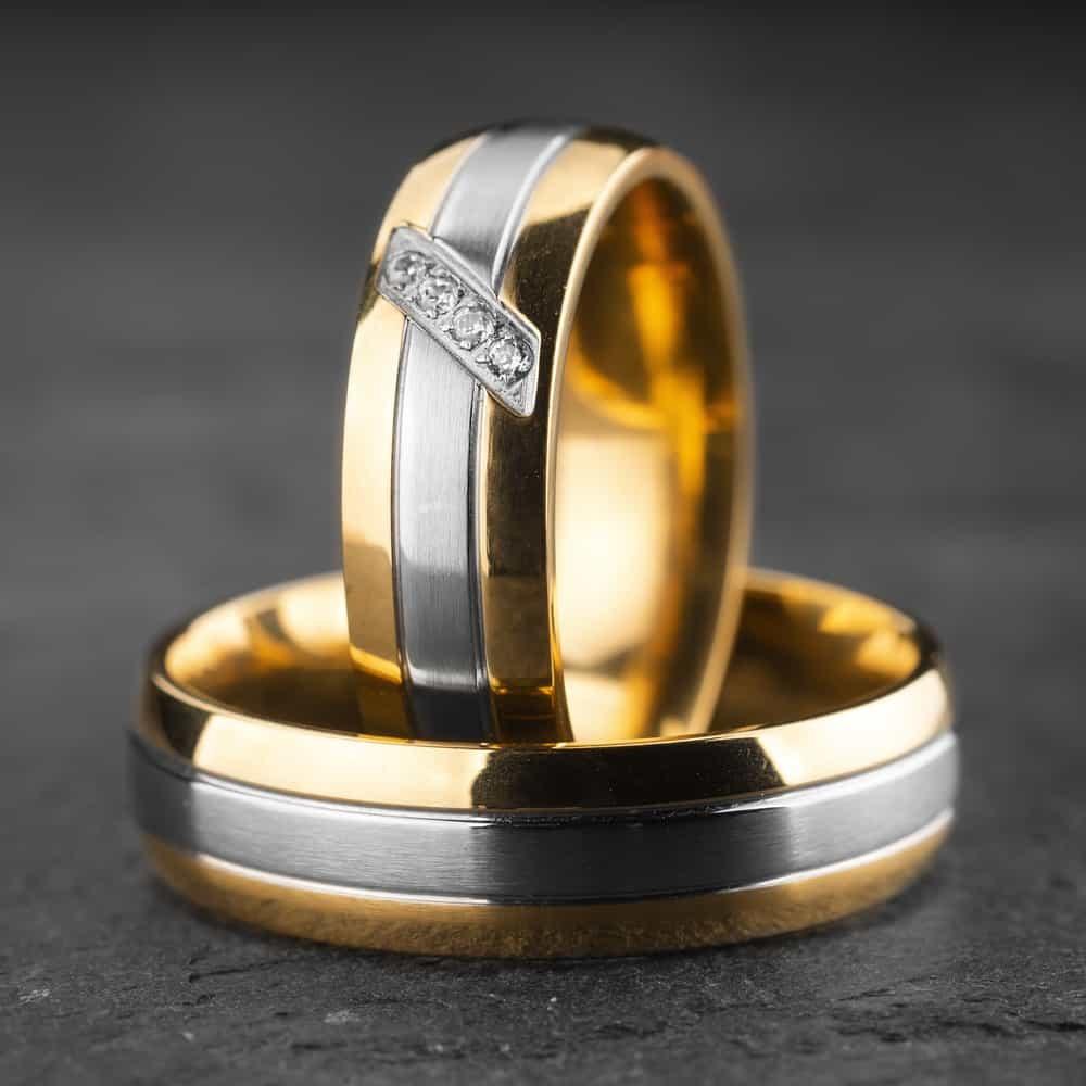 """Vestuviniai žiedai su Briliantais """"Klasika 20"""""""