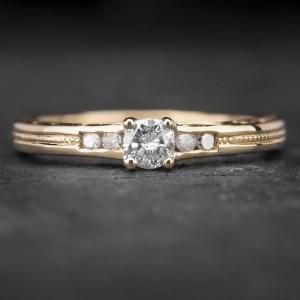 """Sužadėtuvių žiedas su Briliantais """"The Elegance 22"""""""