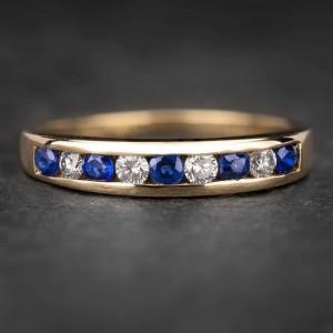 """Auksinis žiedas su Brangakmeniais """"Deimantinė Juostelė 13"""""""