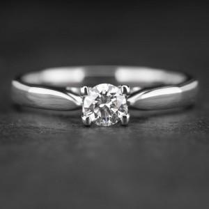 """Sužadėtuvių žiedas su Briliantu """"Fortune 6"""""""
