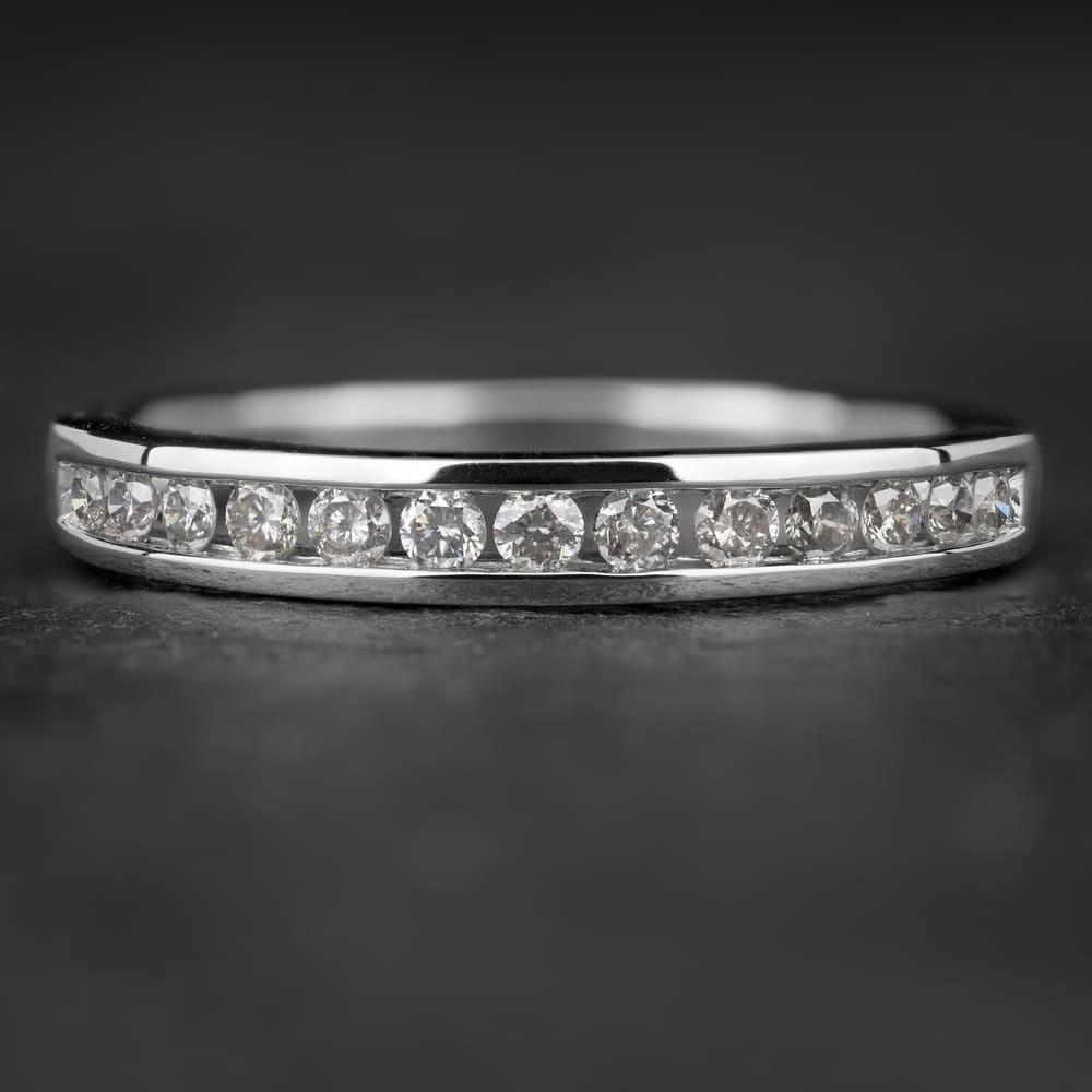 """Auksinis žiedas su Briliantais """"Deimantinė Juostelė 2"""""""