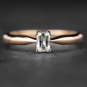 """Sužadėtuvių žiedas su Deimantu """"The Diamond 2"""""""