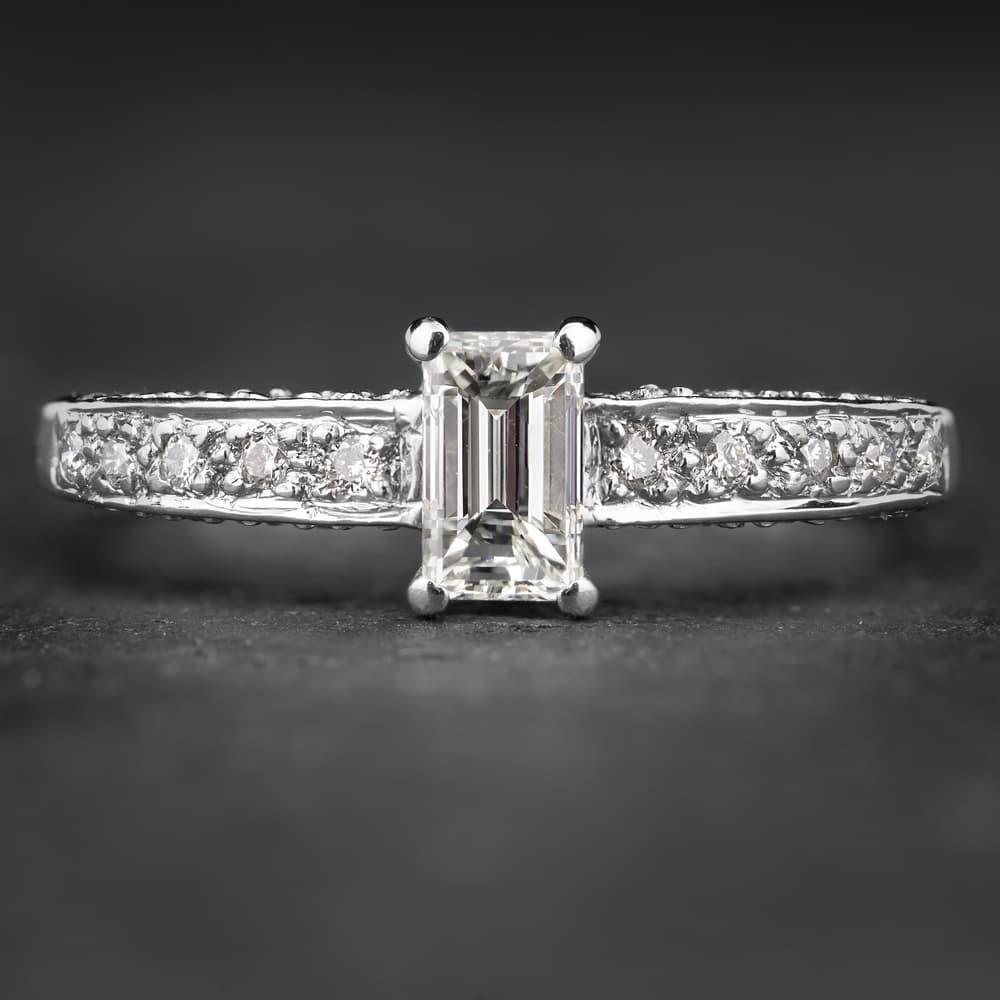 """Auksinis žiedas su Deimantais """"Tiara II"""""""