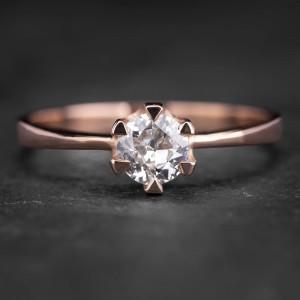 """Sužadėtuvių žiedas su Briliantu """"Enchanting 4"""""""
