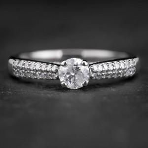 """Paladžio žiedas su Deimantais """"The Elegance 15"""""""