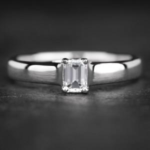 """Sužadėtuvių žiedas su Deimantu """"The Diamond 6"""""""
