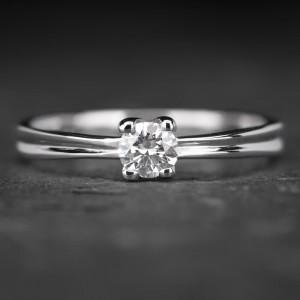 """Sužadėtuvių žiedas su Briliantu """"Fortune 7"""""""