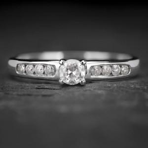 """Sužadėtuvių žiedas su Deimantais """"The Elegance 27"""""""