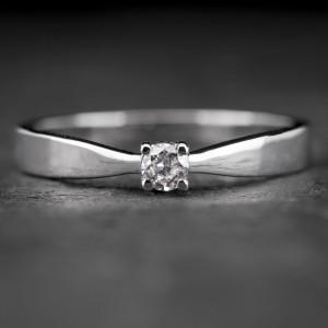 """Sužadėtuvių žiedas su Briliantu """"The Elegance 29"""""""