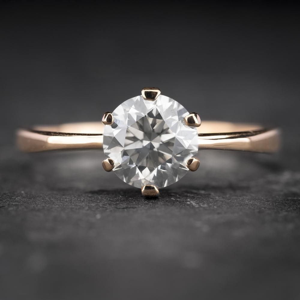 """Sužadėtuvių žiedas su Briliantu """"Enchanting 5"""""""