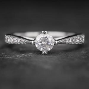 """Auksinis žiedas su Briliantais """"The Elegance 33"""""""