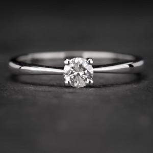 """Sužadėtuvių žiedas su Deimantu """"The Diamond 51"""""""