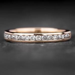 """Auksinis žiedas su Briliantais """"Deimantinė Juostelė 22"""""""