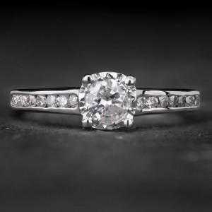 """Sužadėtuvių žiedas su Briliantais """"The Elegance 38"""""""