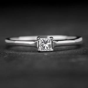 """Sužadėtuvių žiedas su Deimantu """"Princess 40"""""""