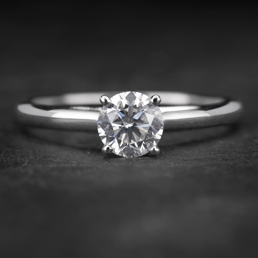 """Sužadėtuvių žiedas su Briliantu """"The Goddess 41"""""""