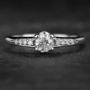 """Sužadėtuvių žiedas su Briliantais """"The Elegance 39"""""""