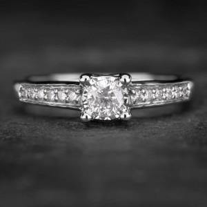 """Sužadėtuvių žiedas su Briliantais """"The Elegance 42"""""""