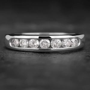 """Auksinis žiedas su Briliantais """"Deimantinė Juostelė 26"""""""