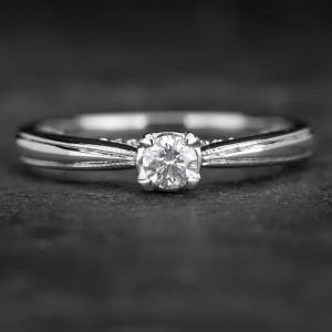 """Sužadėtuvių žiedas su Deimantais """"Fortune 18"""""""