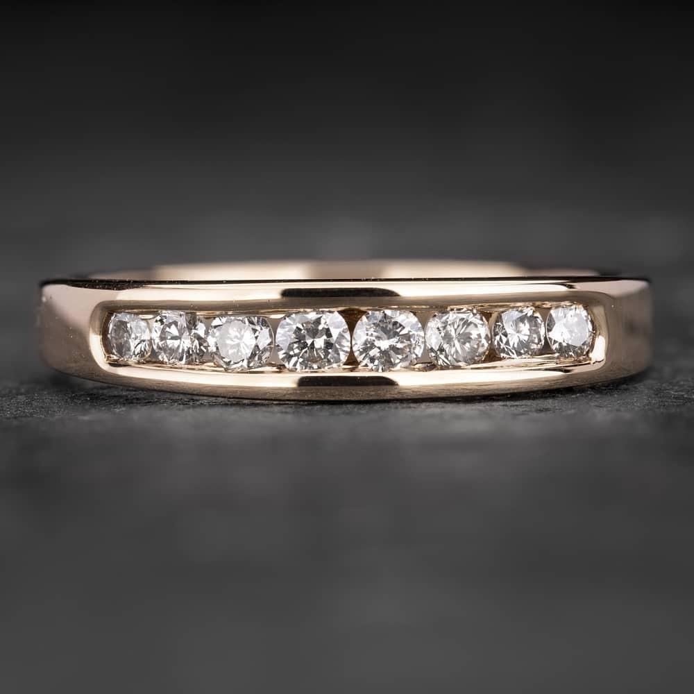 """Auksinis žiedas su Briliantais """"Deimantinė Juostelė 29"""""""