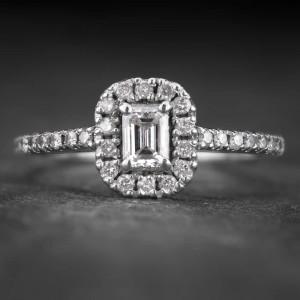 """Auksinis žiedas su Deimantais """"Tiara 23"""""""