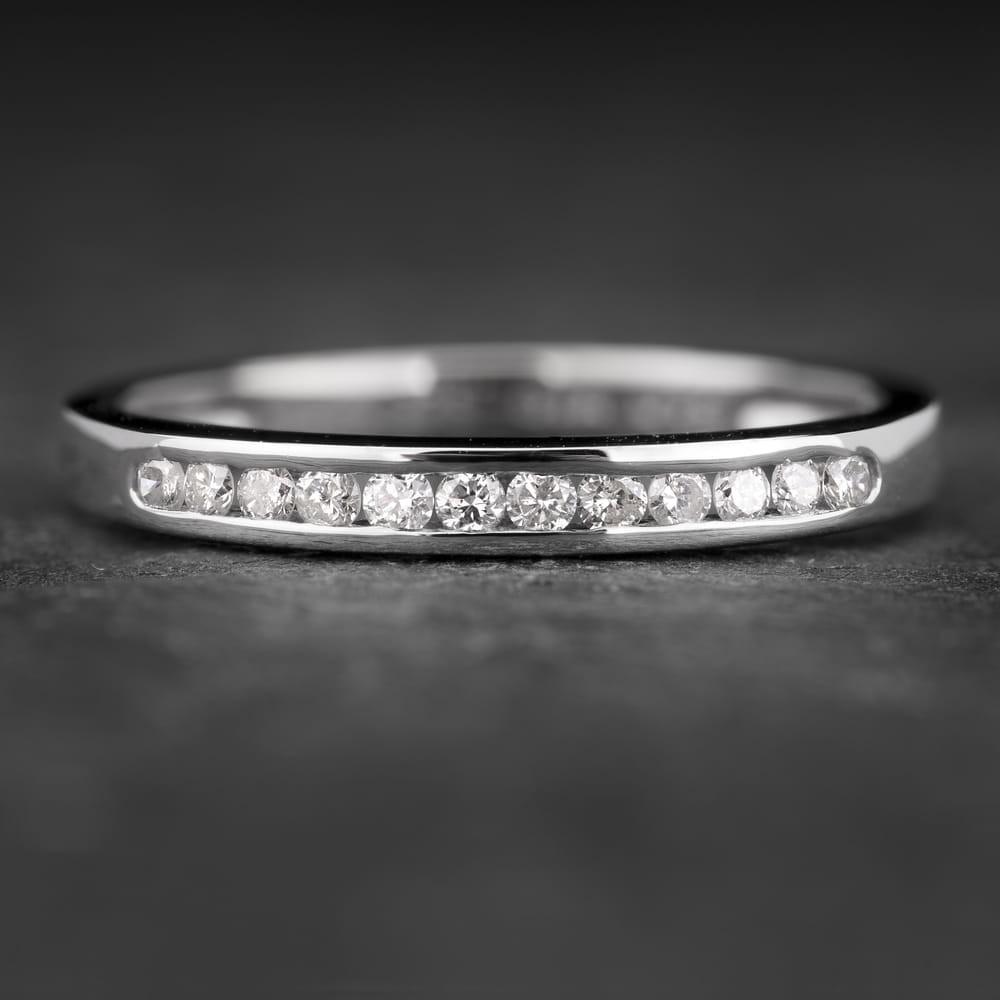 """Auksinis žiedas su Briliantais """"Deimantinė Juostelė 10"""""""