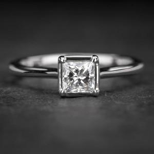 """Sužadėtuvių žiedas su Deimantu """"Princess 48"""""""