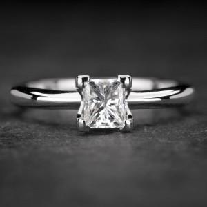 """Sužadėtuvių žiedas su Deimantu """"Princess 49"""""""