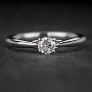 """Sužadėtuvių žiedas su Briliantu """"Fortune 26"""""""