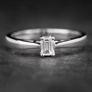 """Sužadėtuvių žiedas su Deimantu """"The Diamond 54"""""""