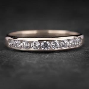 """Auksinis žiedas su Briliantais """"Deimantinė Juostelė 31"""""""