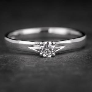 """Sužadėtuvių žiedas su Briliantu """"Fortune 29"""""""