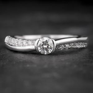 """Sužadėtuvių žiedas su Briliantais """"Fortune 31"""""""