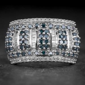 """Auksinis žiedas su Deimantais """"Shiny Bunch 30"""""""