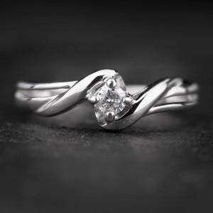 """Sužadėtuvių žiedas su Briliantu """"Fortune 36"""""""