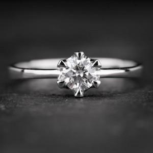"""Sužadėtuvių žiedas su Briliantu """"Enhanting 9"""""""