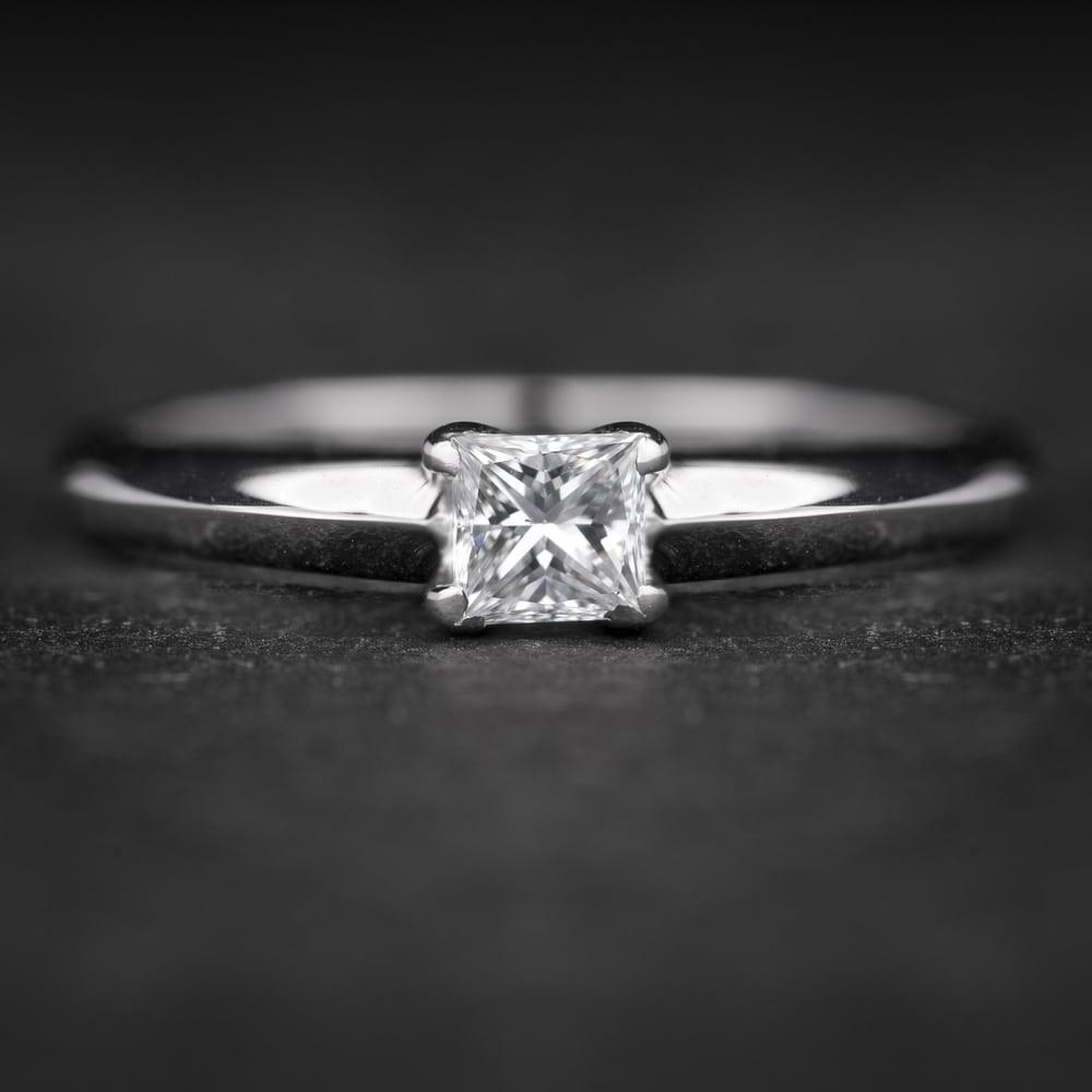 """Sužadėtuvių žiedas su Deimantu """"Princess 61"""""""