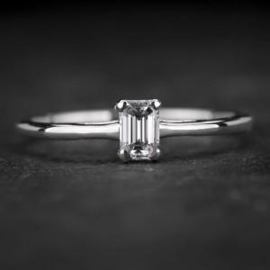 """Sužadėtuvių žiedas su Deimantu """"The Diamond 61"""""""
