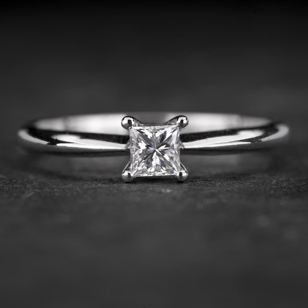 """Sužadėtuvių žiedas su Deimantu """"Princess 64"""""""
