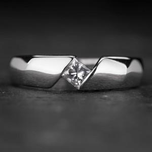 """Sužadėtuvių žiedas su Deimantu """"Sweetness 34"""""""