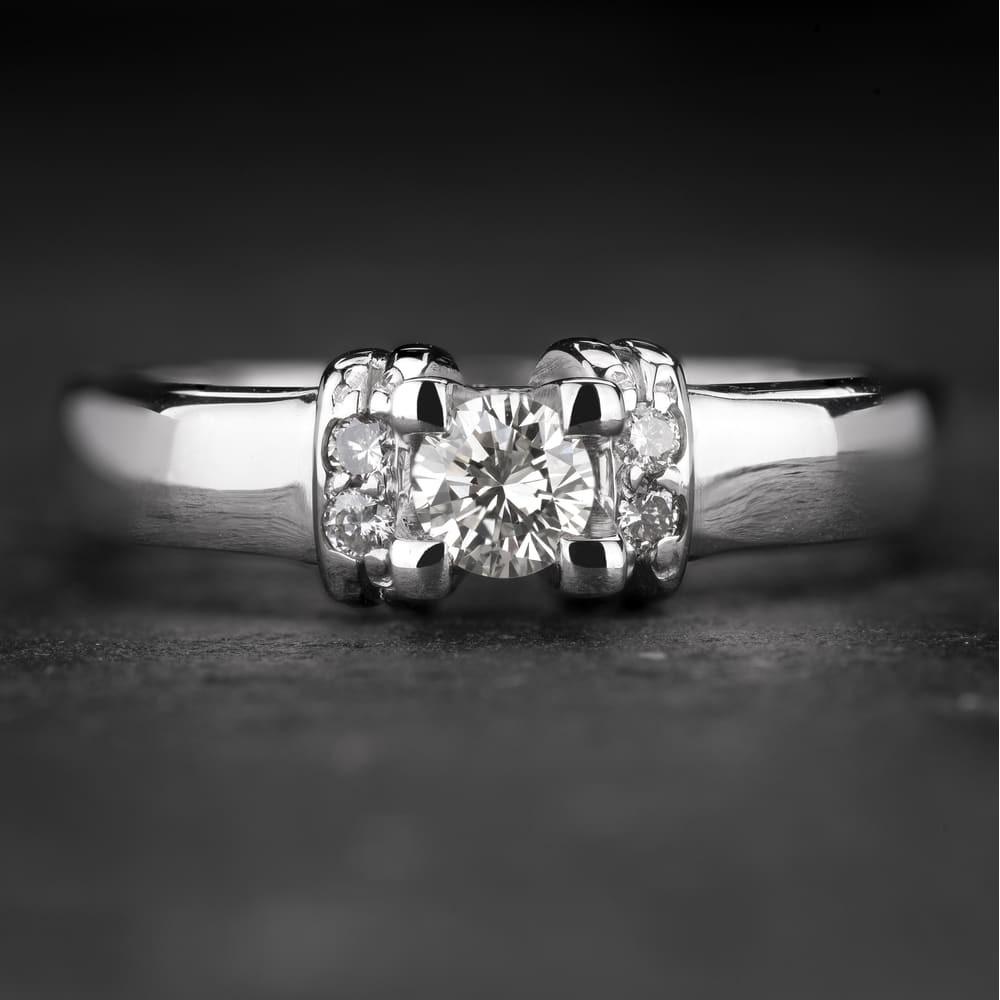 """Sužadėtuvių žiedas su Briliantais """"The Diamond 63"""""""