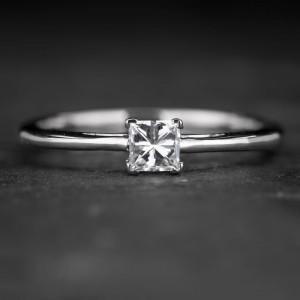 """Sužadėtuvių žiedas su Deimantu """"Princess 67"""""""