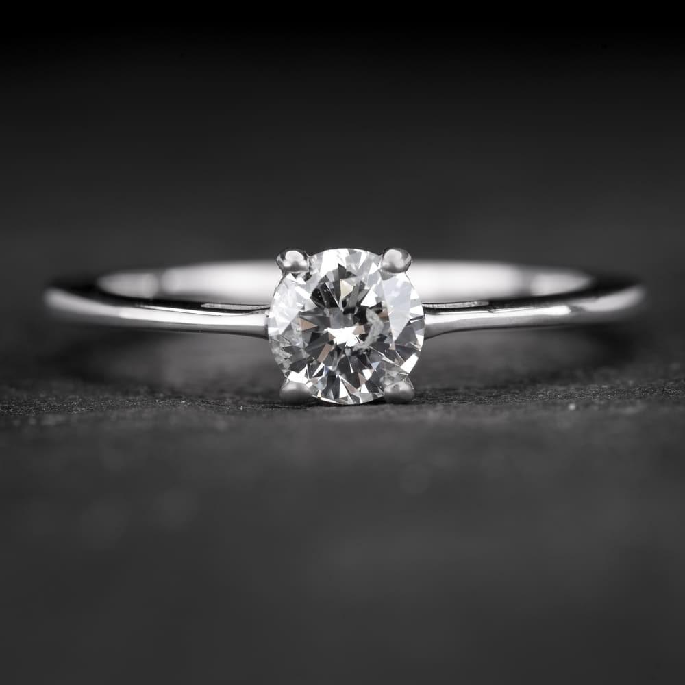 """Sužadėtuvių žiedas su Briliantu """"The Goddess 51"""""""