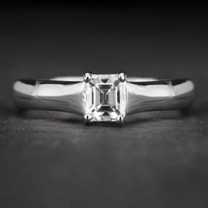 """Sužadėtuvių žiedas su Deimantu """"The Diamond 64"""""""