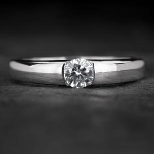 "Auksinis žiedas su Briliantu ""Sweetness 36"""